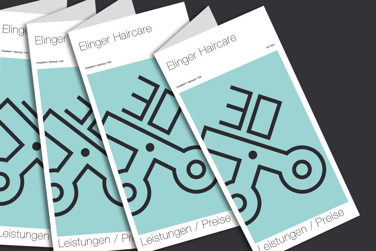 Logo Flyer Friseur-Salon